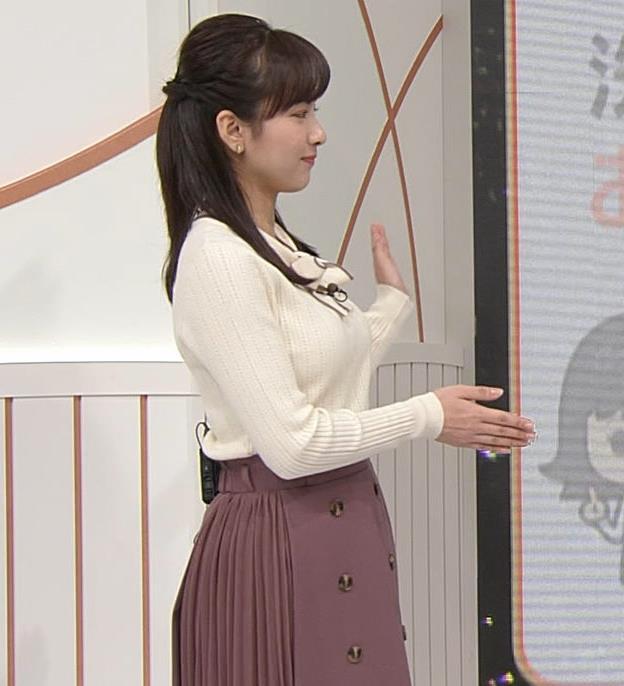 河出奈都美 日テレの若手巨乳アナキャプ・エロ画像5