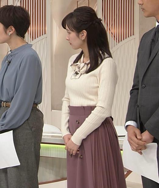 河出奈都美 日テレの若手巨乳アナキャプ・エロ画像8