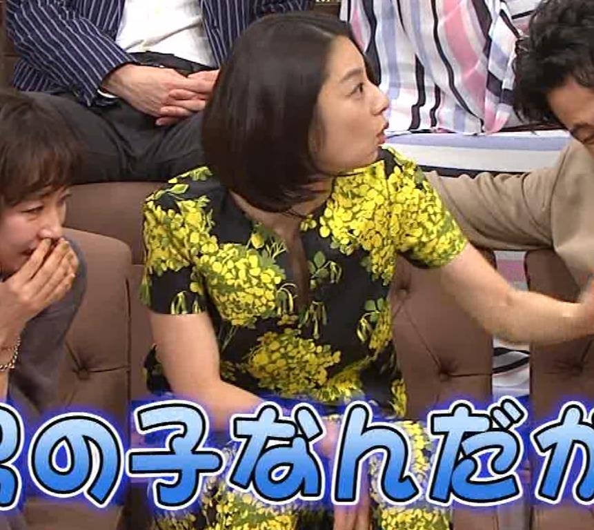 小池栄子 胸元エロキャプ・エロ画像8