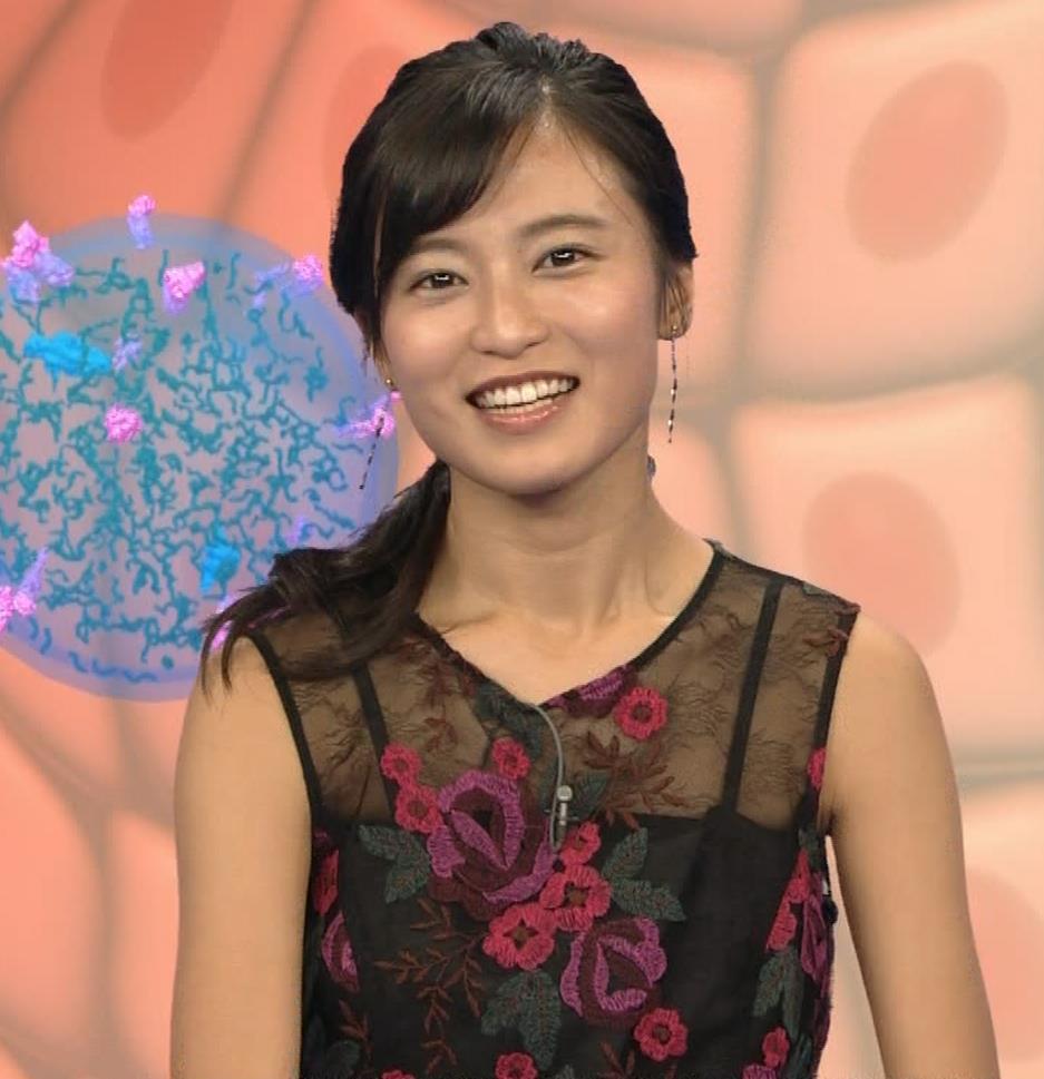 小島瑠璃子 透けノースリーブとかキャプ・エロ画像15