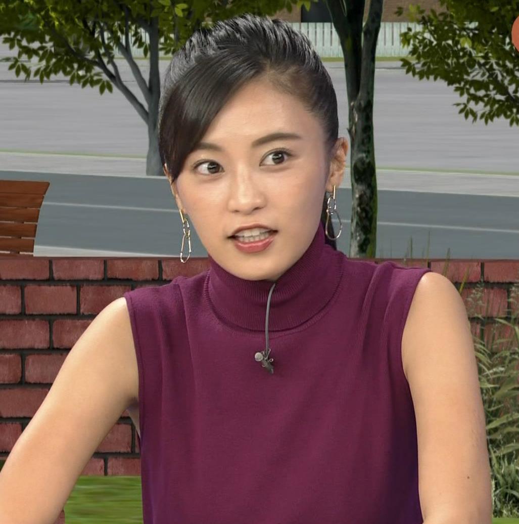 小島瑠璃子 透けノースリーブとかキャプ・エロ画像5