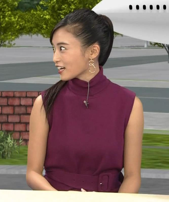 小島瑠璃子 透けノースリーブとかキャプ・エロ画像6
