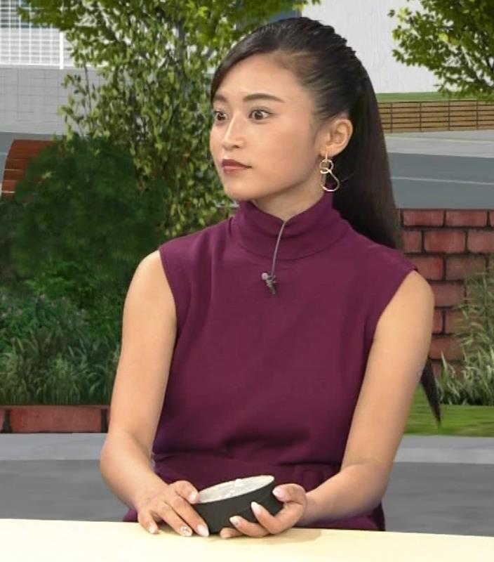 小島瑠璃子 透けノースリーブとかキャプ・エロ画像7