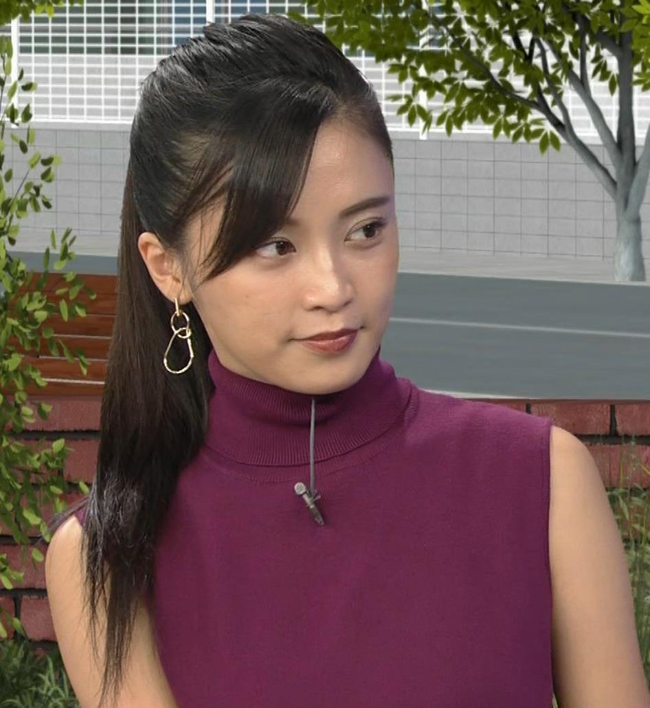 小島瑠璃子 透けノースリーブとかキャプ・エロ画像8