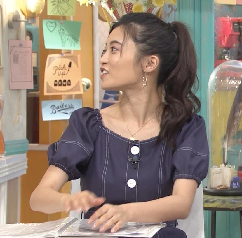 小島瑠璃子 鎖骨露出キャプ・エロ画像9