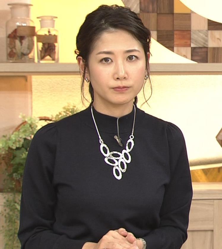 桑子真帆アナ 横乳がすごかったよキャプ・エロ画像