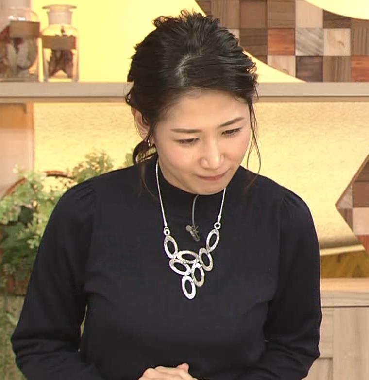 桑子真帆アナ 横乳がすごかったよキャプ・エロ画像2