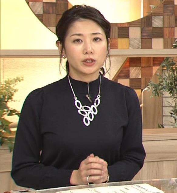 桑子真帆アナ 横乳がすごかったよキャプ・エロ画像11