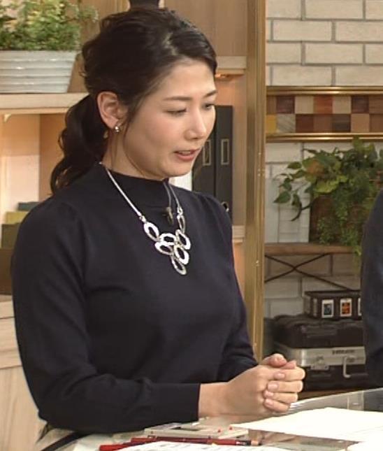 桑子真帆アナ 横乳がすごかったよキャプ・エロ画像3