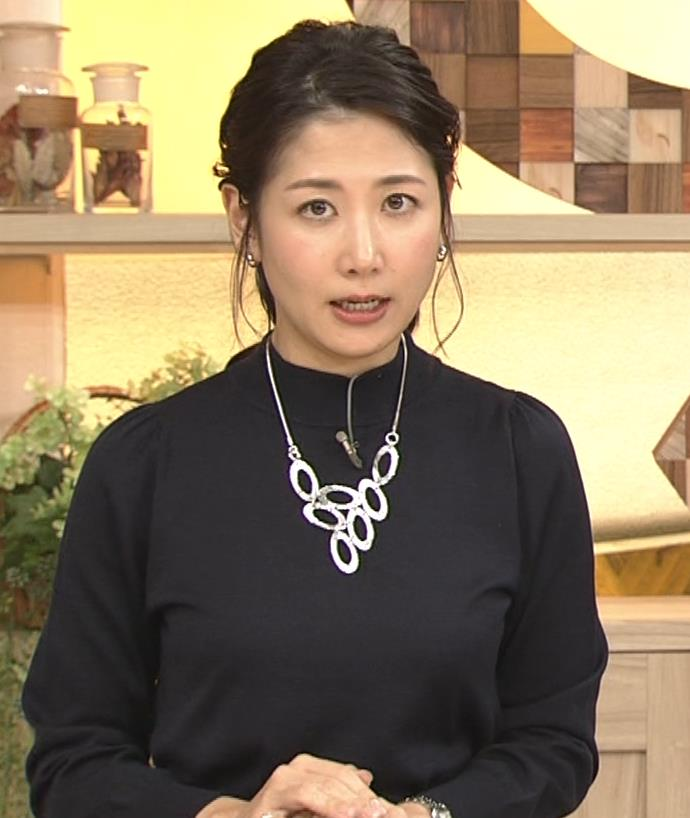 桑子真帆アナ 横乳がすごかったよキャプ・エロ画像4