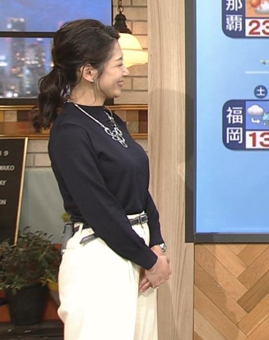 桑子真帆アナ 横乳がすごかったよキャプ・エロ画像7