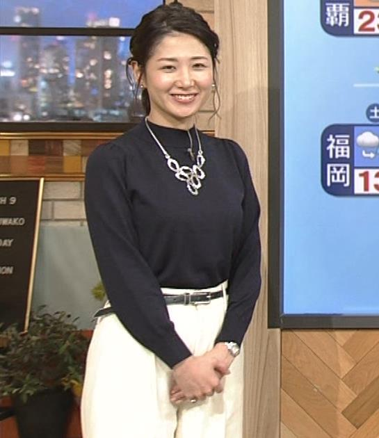 桑子真帆アナ 横乳がすごかったよキャプ・エロ画像8