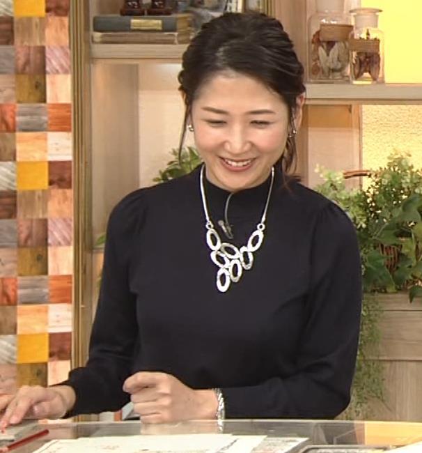 桑子真帆アナ 横乳がすごかったよキャプ・エロ画像10