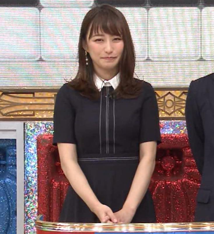 枡田絵理奈 着衣おっぱいキャプ・エロ画像