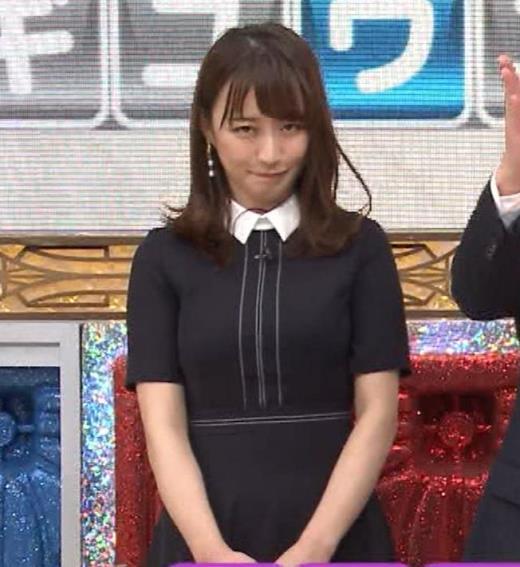 枡田絵理奈 着衣おっぱいキャプ画像(エロ・アイコラ画像)
