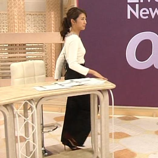 三田友梨佳アナ 新婚さんのピチピチな服キャプ・エロ画像6