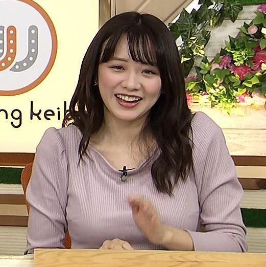 森香澄アナ 巨乳を押しつぶす競馬番組キャプ・エロ画像7