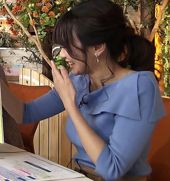 森香澄アナ エロい競馬番組キャプ・エロ画像6