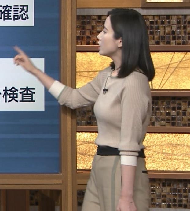 森川夕貴アナ 巨乳を隠さなくなってエロさMAXキャプ・エロ画像11