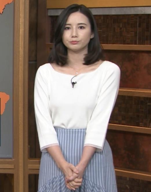 森川夕貴アナ 巨乳を隠さなくなってエロさMAXキャプ・エロ画像17