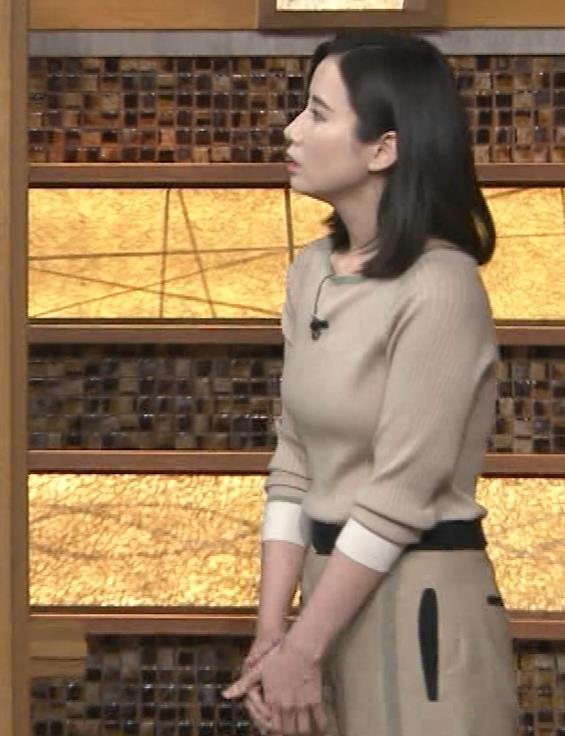 森川夕貴アナ 巨乳を隠さなくなってエロさMAXキャプ・エロ画像5