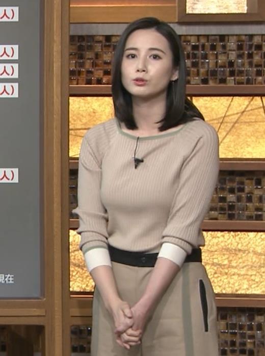 森川夕貴アナ 巨乳を隠さなくなってエロさMAXキャプ・エロ画像9