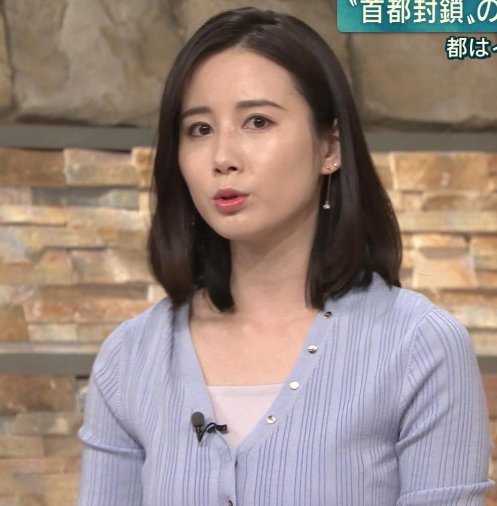 森川夕貴アナ エッチない横乳キャプ・エロ画像
