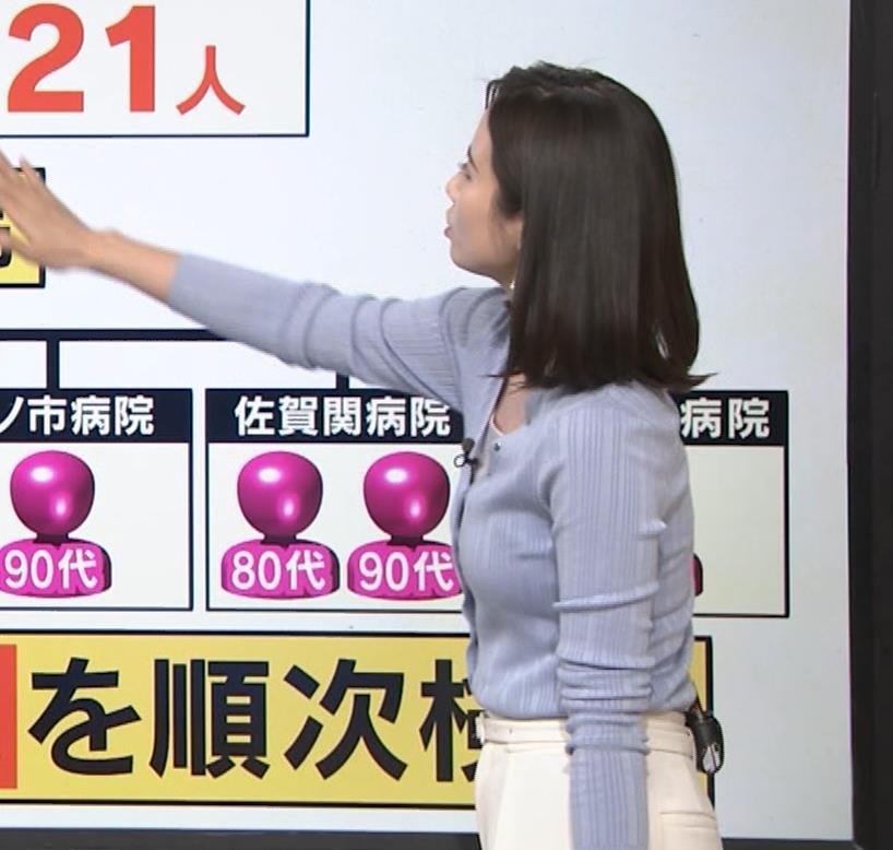 森川夕貴アナ エッチない横乳キャプ・エロ画像11