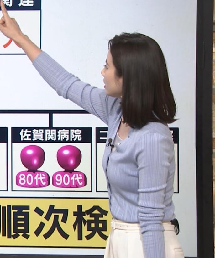 森川夕貴アナ エッチない横乳キャプ・エロ画像12