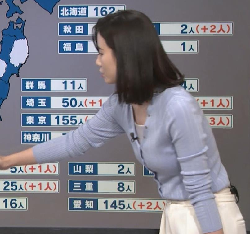 森川夕貴アナ エッチない横乳キャプ・エロ画像8