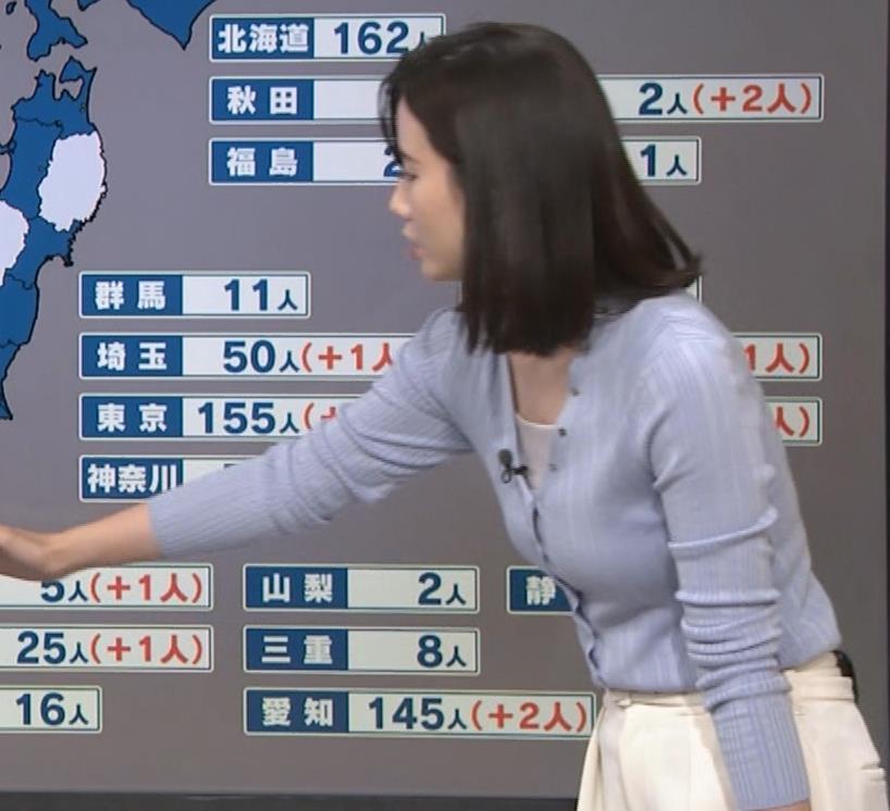 森川夕貴アナ エッチない横乳キャプ・エロ画像9