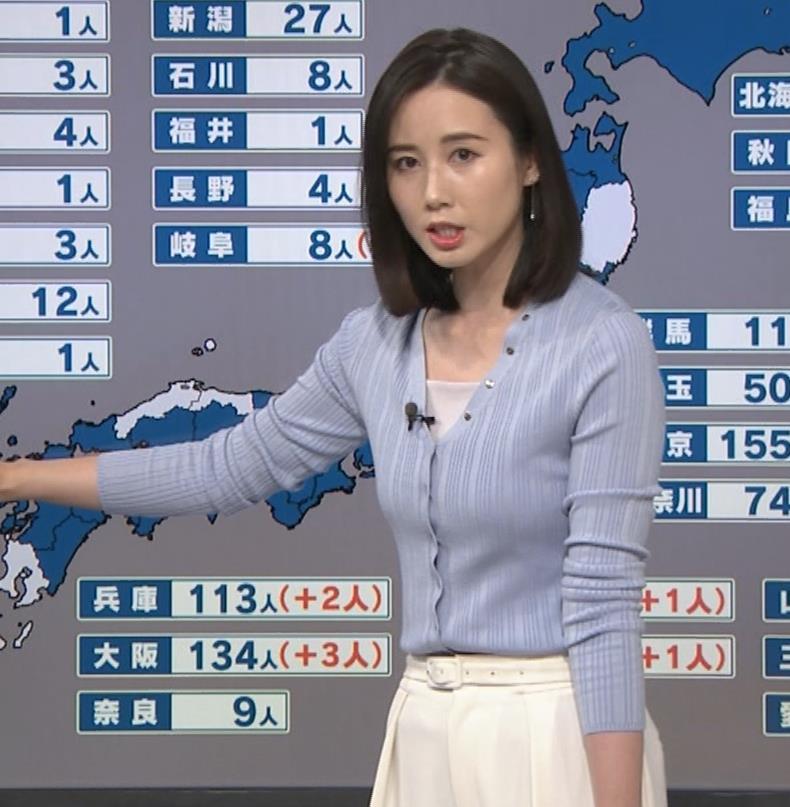 森川夕貴アナ エッチない横乳キャプ・エロ画像10