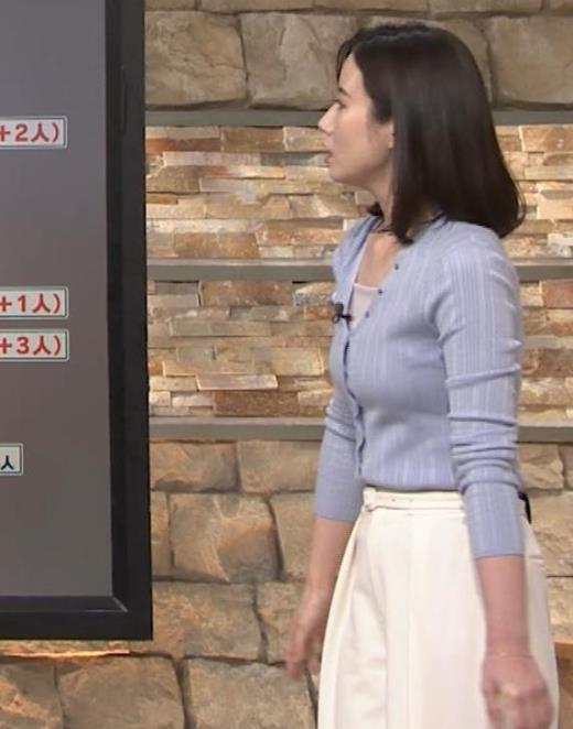 森川夕貴アナ エッチな横乳キャプ画像(エロ・アイコラ画像)