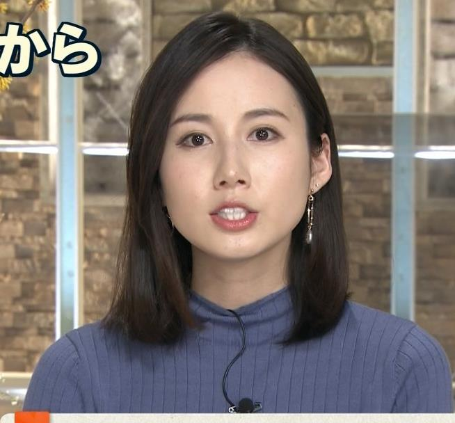 森川夕貴アナ エチエチなニットおっぱいキャプ・エロ画像3