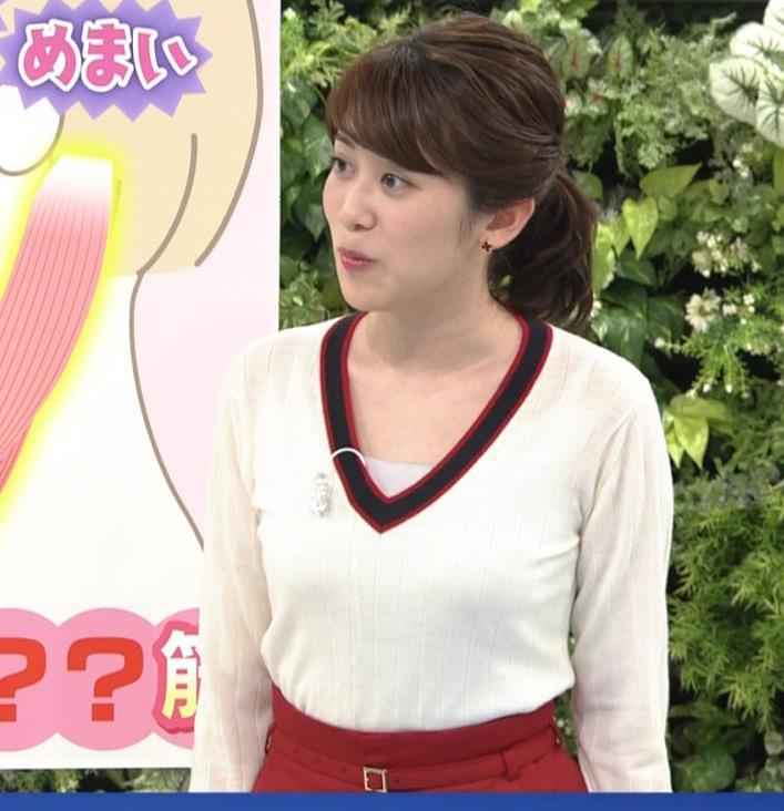 中川安奈アナ NHKの若手おっぱいアナキャプ・エロ画像2