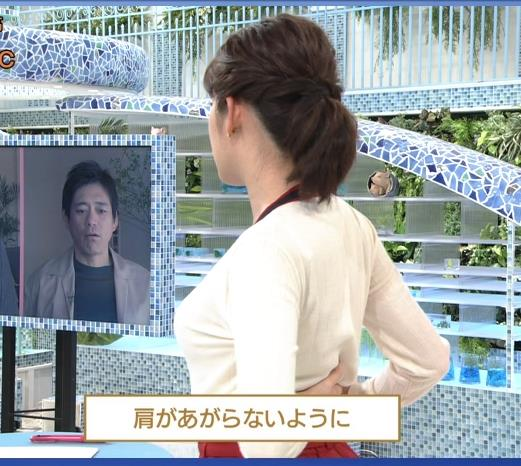 中川安奈アナ NHKの若手おっぱいアナキャプ・エロ画像4