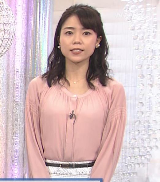 中山果奈アナ 「オシばん」 キャプ・エロ画像