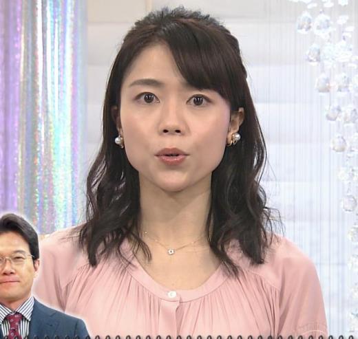 中山果奈アナ 「オシばん」 キャプ画像(エロ・アイコラ画像)