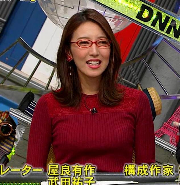 小澤陽子アナ 横乳でデカさを再認識キャプ・エロ画像9