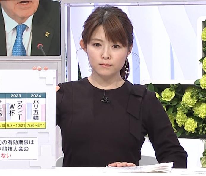 諸國沙代子アナ おっぱいパツパツ衣装(ウェークアップ!ぷらす)キャプ・エロ画像8