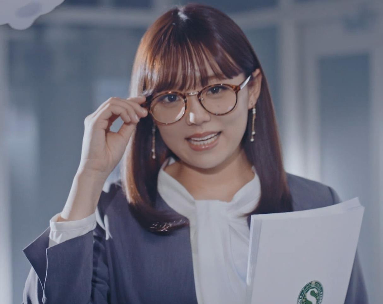 篠崎愛 こんなかわいい子と一緒に働きたくなるCMキャプ・エロ画像2