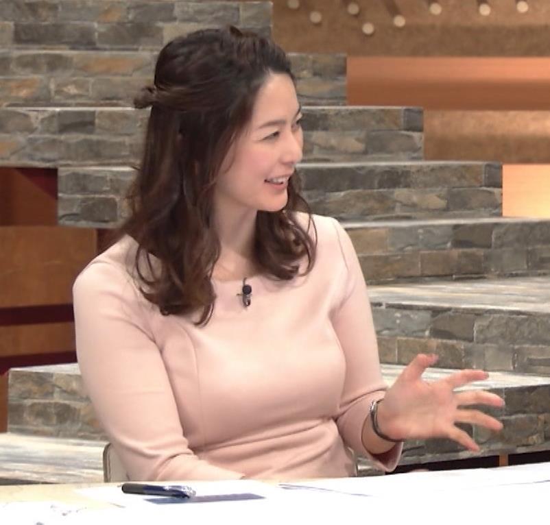 杉浦友紀アナ またエッロぃ服を着てるキャプ・エロ画像13