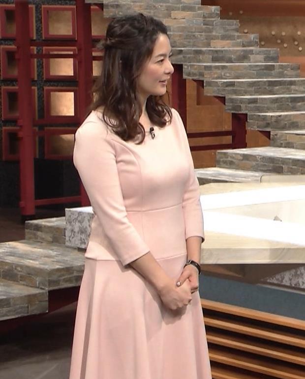 杉浦友紀アナ またエッロぃ服を着てるキャプ・エロ画像3