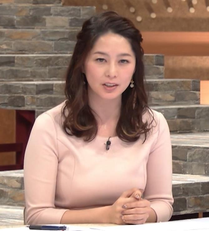 杉浦友紀アナ またエッロぃ服を着てるキャプ・エロ画像10