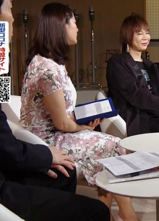 杉浦友紀アナ ムチムチ衣装キャプ画像(エロ・アイコラ画像)