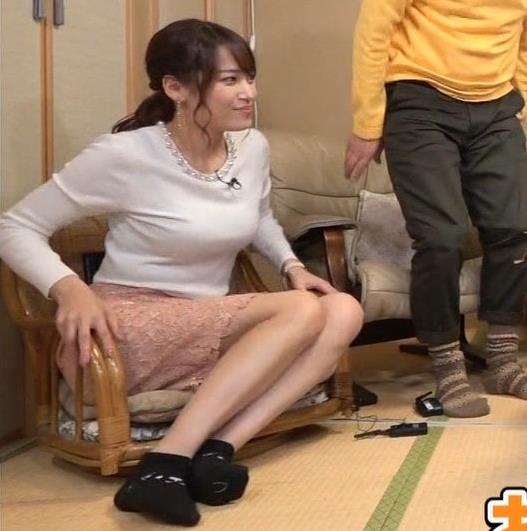 鷲見玲奈アナ 脚フェチ向けエロキャプ・エロ画像5