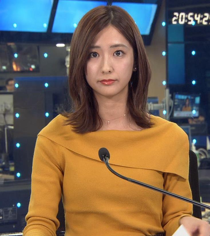 田村真子アナ 胸のふくらみキャプ・エロ画像2