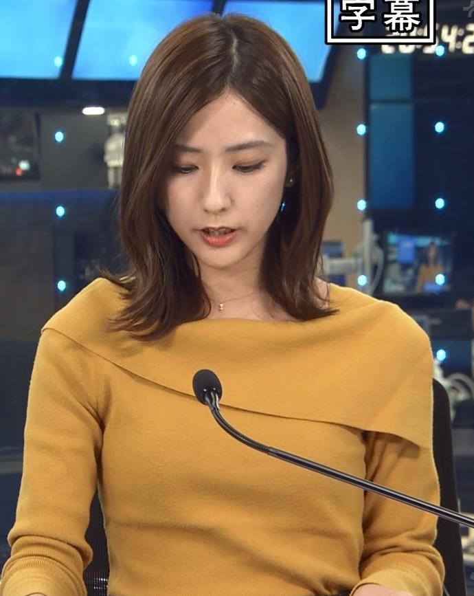 田村真子アナ 胸のふくらみキャプ・エロ画像3