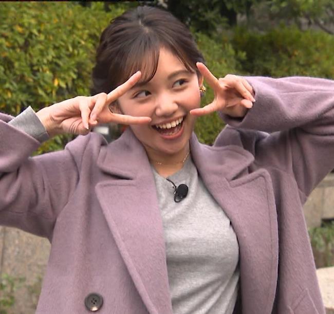 田中瞳アナ エロいおっぱいキャプ・エロ画像