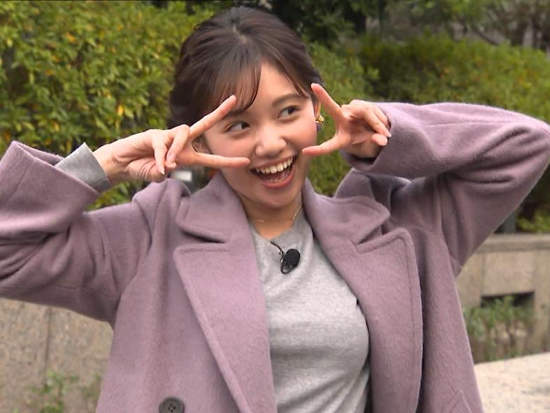 田中瞳アナ エロいおっぱいキャプ・エロ画像3